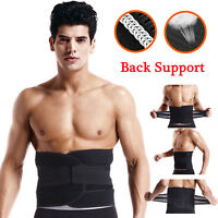 For Men Women Lower Back Support Brace Waist Lumbar Pain Relife Weight Loss Gym