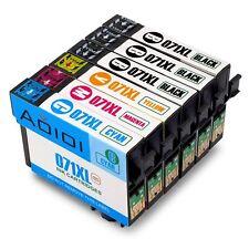 Aoioi® Cartucce compatibili per Epson 071XL (3 Nero,1 Ciano,1 Magenta,1 Giallo)