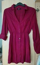 Bluse in rosaviolett S Damen Damenhemd tunik gömlek
