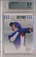 2013 Leaf Rize Draft Kris Bryant ROOKIE BGS 9.5 GEM MINT Chicago Cubs MVP!