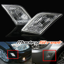 FOR 08-11 MERCEDES BENZ W204 C300/C350/C63 EURO CLEAR SIDE MARKER LIGHTS LAMPS