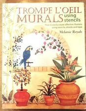 Book: Trompe L'Oeil Murals - how to create illusions by Melanie Royals GUC