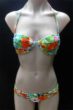 Tag Billabong Ladies Bikini Set Padded Underwire Cup 8 Mix UPS