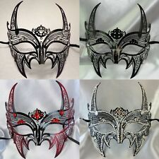 mask devil horns futuristic Steampunk video shoot Halloween cosplay party Venice