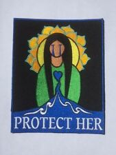 "Water protector patch: ""Protect Her""     (7"" L x 5.5"" W)"