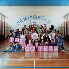 THE GO!TEAM - SEMICIRCLE (LIMITED  NEON PINK EDITION) DLC / VINYL LP + MP3 NEW!