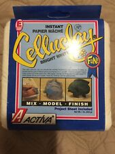 ACTIVA CelluClay Instant Papier Mache 1 lbs White