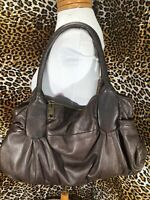 👜 Steven By Steve Madden Shoulder Bag Purse Brown  Genuine Leather👛