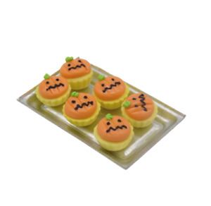 Dolls House Miniature Halloween-cake- Cupcakes-Food-accessory-1:12 scale
