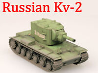 Easy Model 1/72 Russian Army KV-2 Heavy Tank Model With Russian Green #36282