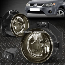 FOR 10-15 MITSUBISHI OUTLANDER SPORT RVR SMOKED LENS FOG LIGHT LAMPS W/SWITCH