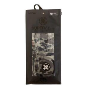 G/FORE Super Luxe Coloured Cabretta Leather Golf Glove Left Hand Cadet XL Camo