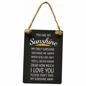 YOU ARE MY SUNSHINE SMALL HANGING SIGN