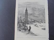 1893 Stich 47  / Erdbeben in Zante