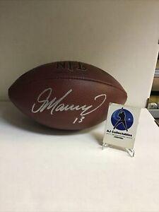 DAN MARINO autographed official NFL wilson football w/coa (JE)