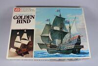 ZF037 Imai 1/70 maquette bateau voilier B-936 golden hind 569x212x452mm