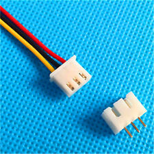 XH 2.54mm XH 3-Pin Female Connector With Wire and Male Connector x 10 Sets