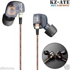 KZ-ATE Copper Conductor Ear Hook HIFI Earphone Sport Headphones with Foam Tips