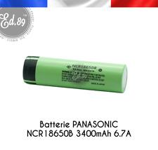 Batterie PANASONIC NCR18650B 3400mAh Li-Ion 3.7V 6.7A