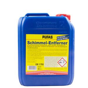 (7,30€/ L)Pufas Schimmel-Entferner 5L, Schimmel-Ex