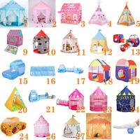 Princess Castle Play House Large Indoor/Outdoor Kids Play Tent For Baby Gift lot