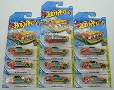 Hot Wheels 67 Ford Mustang Coupe Art Car Lot Of 10, NEW