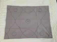 Restoration Hardware Lettice Braid Standar Pillow Sham New