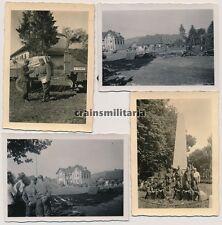6x Orig. Foto Bereitstellung 257.ID Denkmal Grenze Polen Russland b. RADYMNO '41