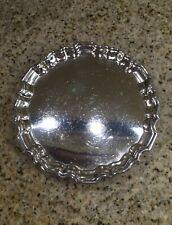 Beautiful 19th Century Thomas Bradbury Silver Plated Mini Footed Salver/Tray!