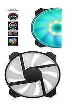 Cooler Master Fan MF200R RGB 200mm PWM Control Fan with Hybrid Silent High Ai...