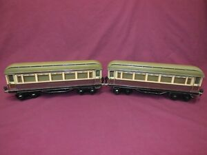 Marklin Rheingold Coaches,2 Car Set,1 Gauge, Beautiful Condition,Original