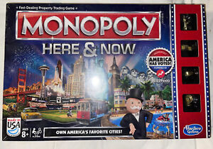 Monopoly Here and Now  Game Limited Edition NEW Sealed