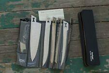Kershaw Kai Task Force Blade Trader Model 1099TF 6 Blade Knife Set and Case