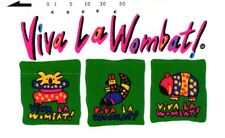 *2829 SCHEDA TELEFONICA PHONECARD USATA JAPAN VIVA LA WOMBAT!