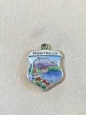 MONTREUX Silver Travel Shield Enamel Charm