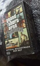 Grand Theft Auto San Andreas Official Soundtrack Box Set BRAND NEW SEALED