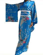 2017 Hot New  Vintage Japanese Kimono Costume Geisha Dress Obi Gown Robe