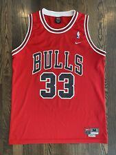 RARE Vintage Nike SCOTTIE PIPPEN #33 Chicago Bulls Jersey Medium 40 M Last Dance