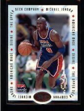 Michael Jordan 1996 Upper Deck UD M3 Team USA American Made Die Cut Card #M3