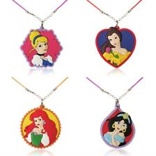 10 Disney Princess Assorted Necklaces.Jelly Necklace . Party Bag Filler Birthday