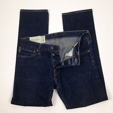 Abercrombie & Fitch ROLLINS Low Rise Skinny Button Fly Jeans Mens Size 30 x 30
