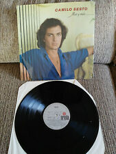 """CAMILO SESTO MAS Y MAS LP 12"""" VG+/VG+ 1981 SPANISH EDITION"""