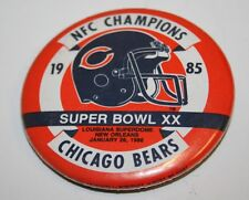 Vintage 1986 Chicago Bears NFL Football NFC Superblowl Champions Pin
