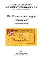 Preo, Precancel, Vorausentwertung, Handbuch Frankreich Vorausentwertungen NEU !!