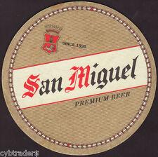 San Miguel  Beer Coaster Refrigerator / Tool Box  Magnet