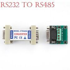 9 Pin RS-232 to RS-485 Interface Converter Adapter RS232 Serial RS485 UK