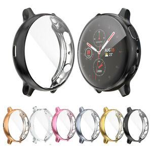 For Samsung Galaxy Watch Active 2 Screen Protector Cover TPU Bumper Case 44/40mm