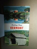 GREETINGS FROM VERMONT 1959 Plastichrome DON SIEBURG Colourpicture