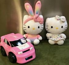 Hello Kitty Plush Dolls!...with: Car,  miniatures & accessories!....
