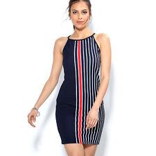 Vestido sin mangas de piqué mujer - 009750